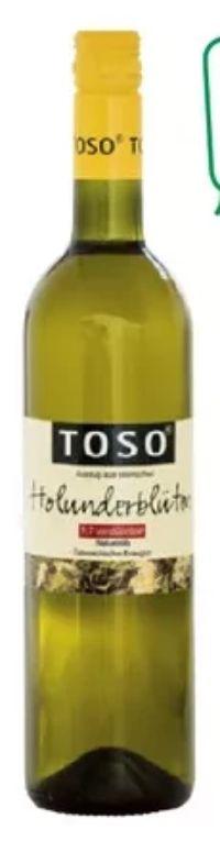 Holunderblütensirup von Toso