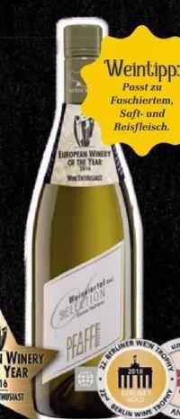 Selection Grüner Veltliner von Weingut R&A Pfaffl