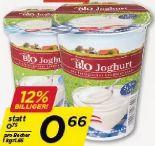 Bio Naturjoghurt von Echt Bio