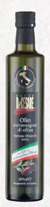 Olivenöl von Conte de Cesare