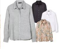Damen Leinen-Bluse von Esmara