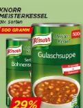 Meisterkessel Gulaschsuppe von Knorr