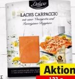 Lachscarpaccio von Deluxe