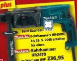 Profi-Bohrhammer HR2470 von Makita