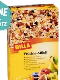 Früchte-Müsli von Billa