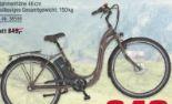 E-Bike Alu City Bike von Prophete