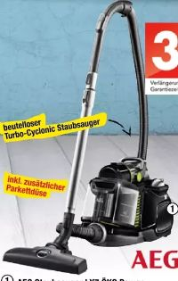 Staubsauger LX7 Öko Power von AEG