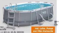Pool-Set Power Steel Frame Oval von BestWay