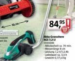 Akku-Grasschere AGS 7,2 LI von Bosch