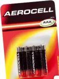 Batterien von Aerocell