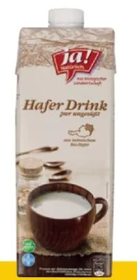 Bio-Hafer-Drink von ja!natürlich