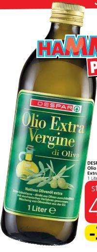 Olio D'Oliva Extra Vergine von Despar