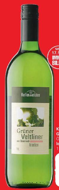 Grüner Veltiner von Kellermeister
