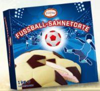 Fussball Sahnetorte von Confiserie Firenze