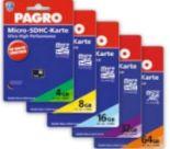 SD/Microkarten von Pagro