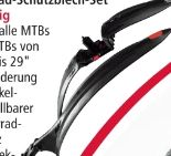 Fahrrad-Schutzblech-Set von Top Velo