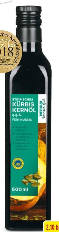 Kürbiskernöl von Merkur Immer Gut