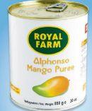 Mango Pulp von Royal Farm