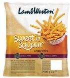 Sweet'N Savour Süsskartoffel Pommes von Lamb Weston