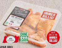 BBQ Hendl-Grillteller von Spar