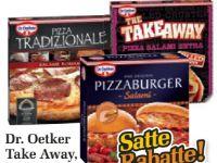 Pizzaburger von Dr. Oetker