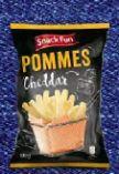 Cheddar-Pommes von Snack Fun