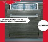 Einbaugeschirrspüler SN636X00CE von Siemens
