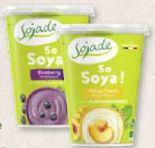 Bio-Joghurt-Alternative von Sojade