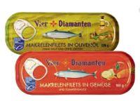 Makrelen in Olivenöl von Vier Diamanten