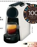 Nespresso Kaffeemaschine Essenza Mini Pure White EN 85 W von DeLonghi