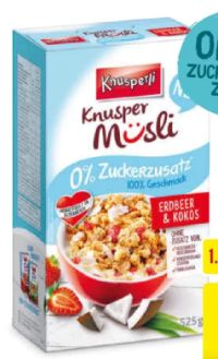 Knusper Müsli von Knusperli