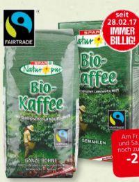 Bio-Kaffee von Spar Natur pur