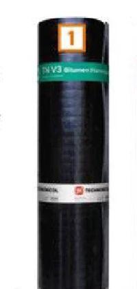 Bitumen-Flämmpappe V3 von Technonicol