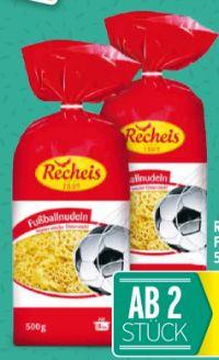 Fußballnudeln von Recheis