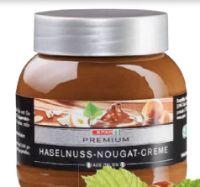 Haselnuss-Nougat-Creme von Spar Premium
