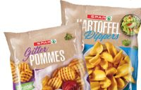 Backrohr Frites von Spar