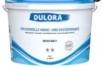 Wandfarbe Innenweiss von Dulora