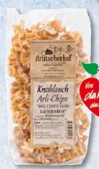 Knoblauch Arli-Chips von Arlitscherhof