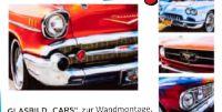 Glasbild Cars von Luca Bessoni