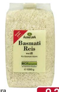 Bio Basmatireis von Alnatura