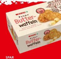 Feine Butter-Waffeln von Spar
