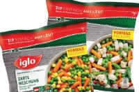 Gemüsemischungen von Iglo