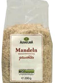 Bio Mandeln von Alnatura