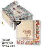 Servietten Royal Collection von Papstar
