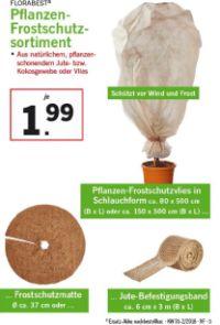Pflanzen-Frostschutzsortiment von Florabest