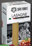 Lasagneblätter von San Fabio