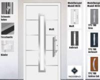 Aluminium-Haustür Moderno