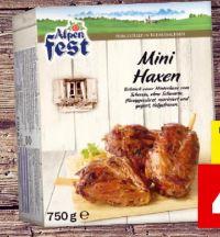 Mini-Haxen von Alpenfest