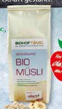 Bio Müsli von Biohof Tomic
