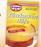 Käsekuchen Hilfe von Dr. Oetker